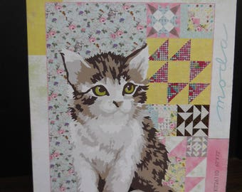 Meow or Never Quilt Kit by Moda