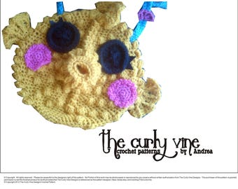 Crochet Blowfish Purse Pattern
