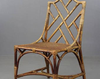 Single Chippendale Style Dining Chair
