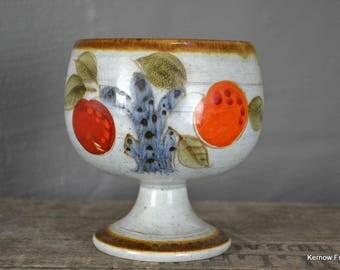 Schramberg Handgemalt Mandarin Stemmed Bowl