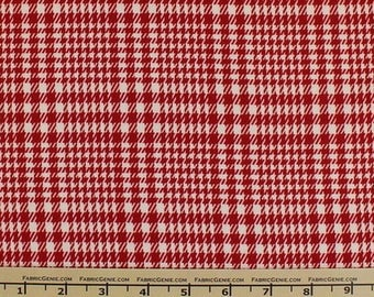 """Houndstooth Burshed Stretched Suiting Fabric """"HVNX3P-BR105"""""""
