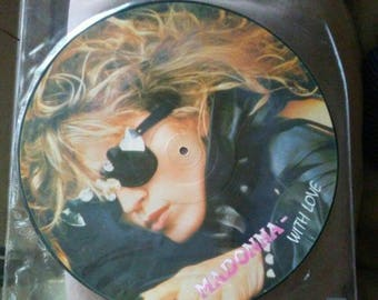 Madonna Picture Disc Interview Speaking To You With Love Limited Edition vinyl record RARE!