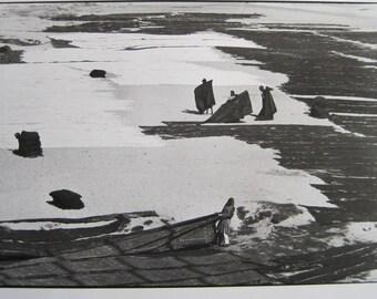 "Affiche Poster - Henri Cartier-Bresson - Ahmedabad, India 1965 - print 1986 - size 23.5 x 31.5""  / 60 x 80cm"