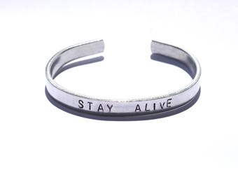 Twenty One Pilots Inspired 'Stay Alive' Bracelet