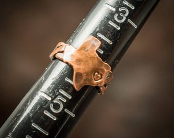 Copper Texas ring