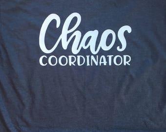 Chaos Coordinator short sleeve t-shirt