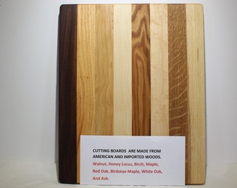 Unique Wooden Cutting Board, Serving Platter, Cheese Board (#118)