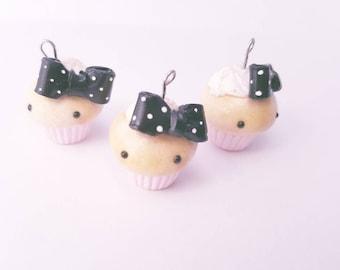 Cute Cupcake Charm