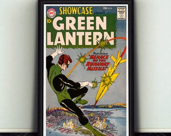 11x17 Showcase #22 Starring Green Lantern Poster Print