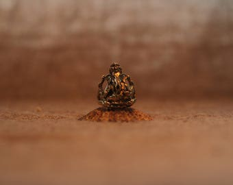 Ganesha, divine ring made of brass