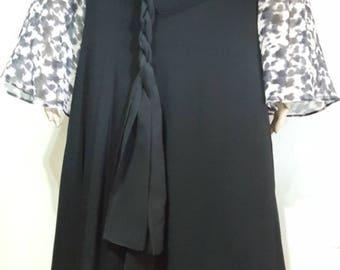 1970 Jean Muir Jersey Crepe Bias Cut Skirt  Designer Womens Vintage Midi Skirts