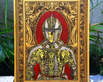Armour Medieval Armor, Medieval Knight Armour Costume Painting, Gladiator Knight Harness, Beautifully Ornate Medieval Armor, Gift for Dad