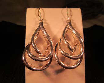Classic Sterling Silver Earrings - Israel