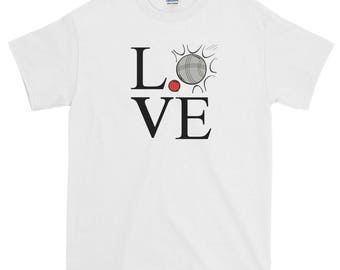 Petanque Love French Boules 100% Cotton T-Shirt