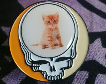 Grateful Dead Steal Your Kitty Pin