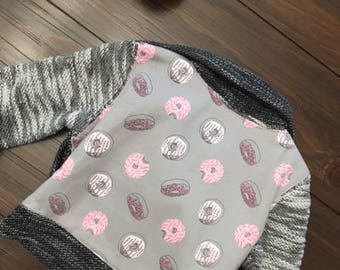 Grey Girls Donut Boucle Jacket 3T