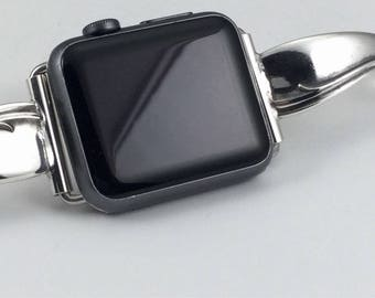 Silverplate Flatware 38mm iWatch Band     Size  6 1/4 inches       # 2083