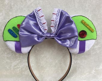 Toy Story Buzz Lightyear inspired mouse ears
