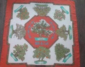 Hermes scarf, shawl 1991 silk