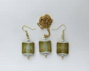 Earrings Pendant Necklace