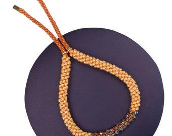 Sun Orange Bracelet made with Swarovski® Crystals