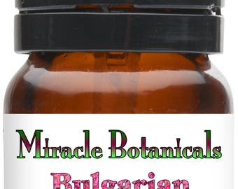 Miracle Botanicals Bulgarian Rose Otto Essential Oil - 100% Pure Rosa Damascena.....Free U.S. Shipping