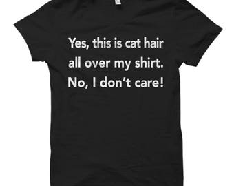 Cat Owner Shirt for Cat Owner, Cat Owner Gift for Cat Owner, Cat Lover Shirts, Cat Shirts, Gift for Cat Lady Shirts Funny Cat T-Shirt #OS658