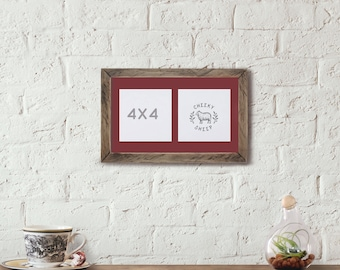 Double Picture Frame Etsy
