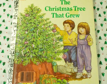 1980's The Christmas Tree That Grew Little Golden Book