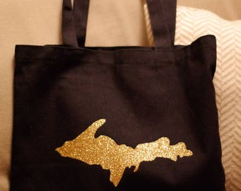 Upper Peninsula Black Tote