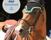Horse Fly Bonnet Pattern