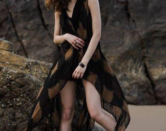 Long Shrug  / Black / Resort Wear / Womens Clothing