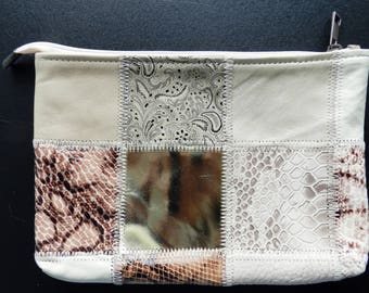 Handmade Genuine Leather Purse, Christmas Gift, Gift for Her, Handmade Gift, Handcrafted Gift