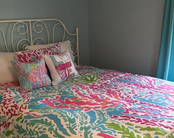 lilly pulitzer bedroom lilly pulitzer bedding etsy 12128