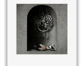 Fine Art Print (matted) MATER DOLOROSA - Surreal Dark Art Photo Illustration by Agardnas