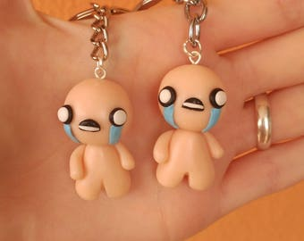 Isaac The Binding of Isaac Gamer Necklace or keychain Indie games