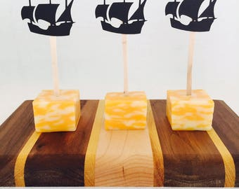 15 Pirate Ship Appetizer Picks - Food Picks - Ahoy Matey - Pirate Party - Birthday Party - Boy - Gasparilla