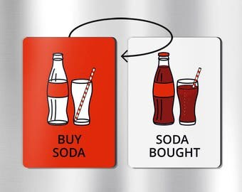 COCA COLA MAGNET - coke item, coca cola items, coca cola gifts, coke gifts, coke bottle, coke a cola, coke lover gifts, soda bottle