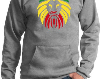 Men's Rasta Lion Head Hoody LIONHEAD-PC90H