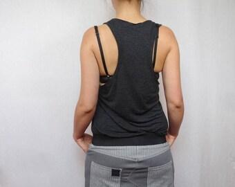 Mini skirt how gray and cut jeans shape zipper