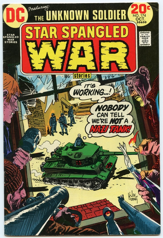 Star Spangled War Stories 174 Oct 1973 FI- (5.5)