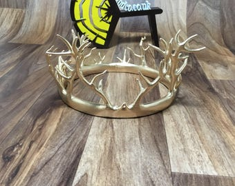 Renly Baratheon replica custume King crown - Game of Thrones crown  1:1 scale Cosplay - 3D Printed - FREE DELIVERY