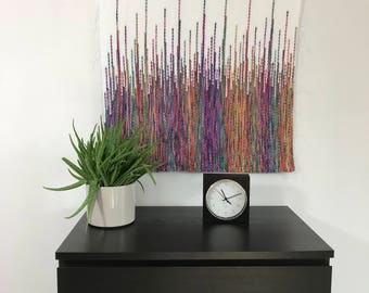 tapestry wedding backdrop, woven wall hangings, bohemian wall tapestry, mid century modern, macrame wall hanging, handmade headboard,