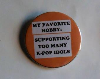 K-Pop Meme Sayings Pinback Buttons