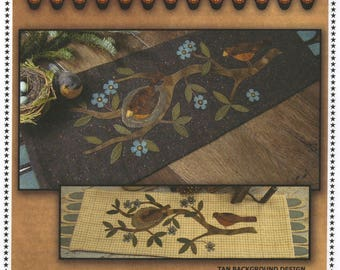 Patiently Waiting by Primitive Gatherings - Wool Applique pattern