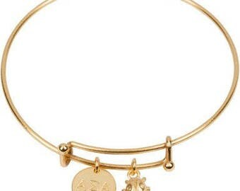 Alpha Sigma Alpha Expandable Bracelet