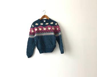 80s Woolrich Sheep Wool Sweater