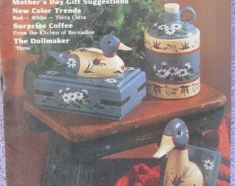 Vintage   Ceramics Magazine April 1983 - Mother's Day Gift Suggestions