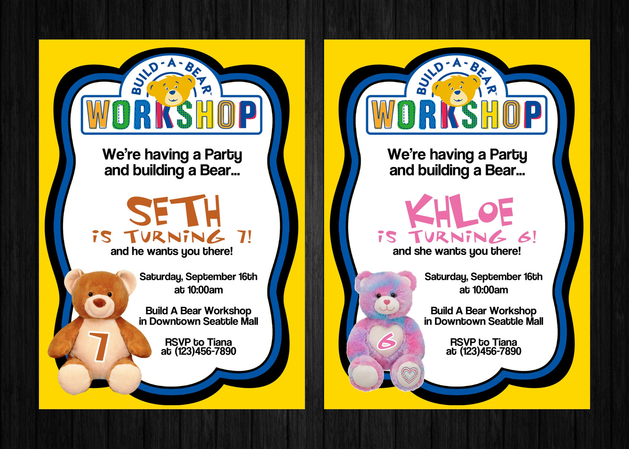 Build A Bear Party Invitations Amazing Invitation Template