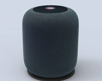 HomePod Coaster made of vegetable tanned leather